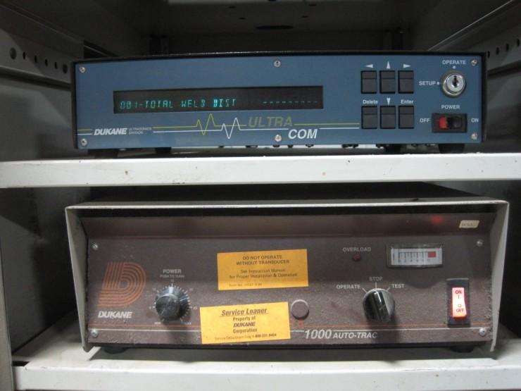 Dukane 210 Ultrasonic Welder 1000 Watt Weld By Distance