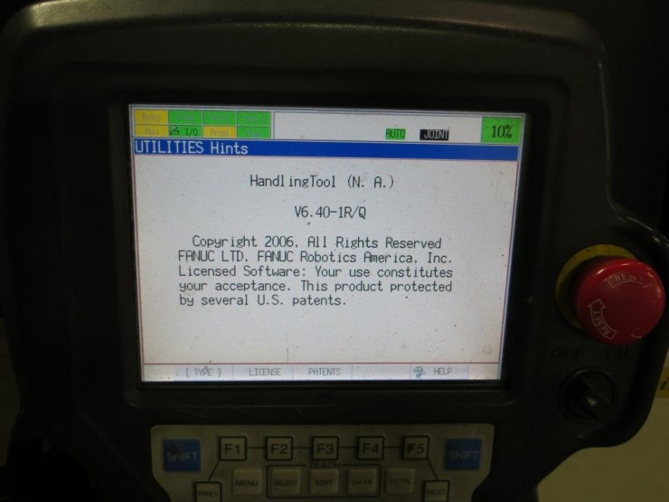 Fanuc Robot Pendant manual