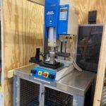 Herrmann 2500 watt (20 kHZ) ultrasonic welder, 2006