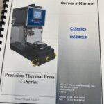 Thermal Press C-Series servo heat staking press, 2017